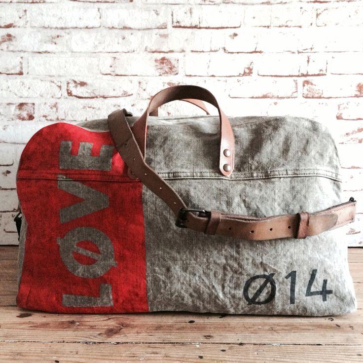 Travel bag, sac de voyage made in France www.sobenstore.com