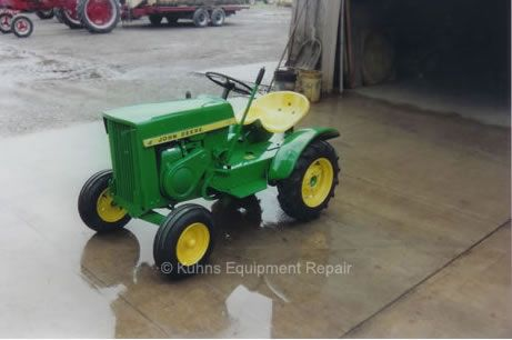 A 1964, this John Deere 110 Garden Tractor could not look any better even if it had just been taken out of the crate. This little beauty required very ...