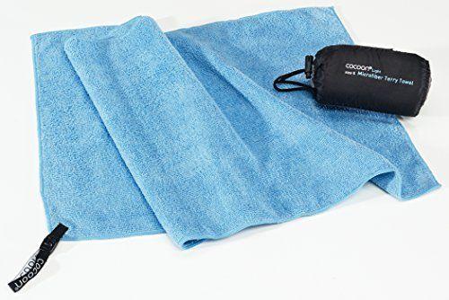 Cocoon Reisehandtuch Terry Towel Light - Microfiber - S - light blue: Amazon.de: Sport & Freizeit