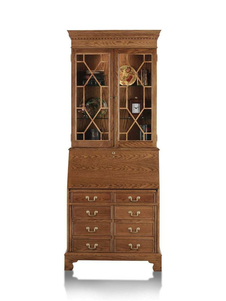 Traditions computer secretary desk with hutch secretary desk with hutch desks and secretary - Corner secretary desk with hutch ...