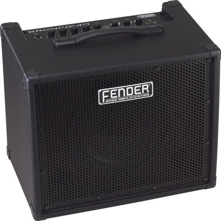 Fender Bronco 40 40W Modeling Bass Combo Amplifier | 10 Speaker