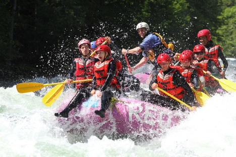 Rafting on the Nahatlatch River thrills
