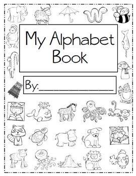 alphabet handwriting book teachers pay teachers products handwriting books handwriting. Black Bedroom Furniture Sets. Home Design Ideas