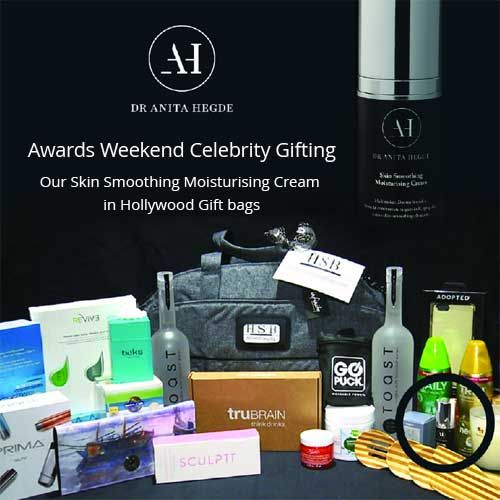 The Skin Smoothing moisturising cream  (SSC) in Awards weekend gift bags at the Four Seasons Hotel Beverly Hills, Los Angeles 2016