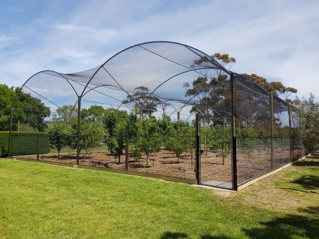 14m Wide X 30m Long Total Harvest Protection Structure Originally