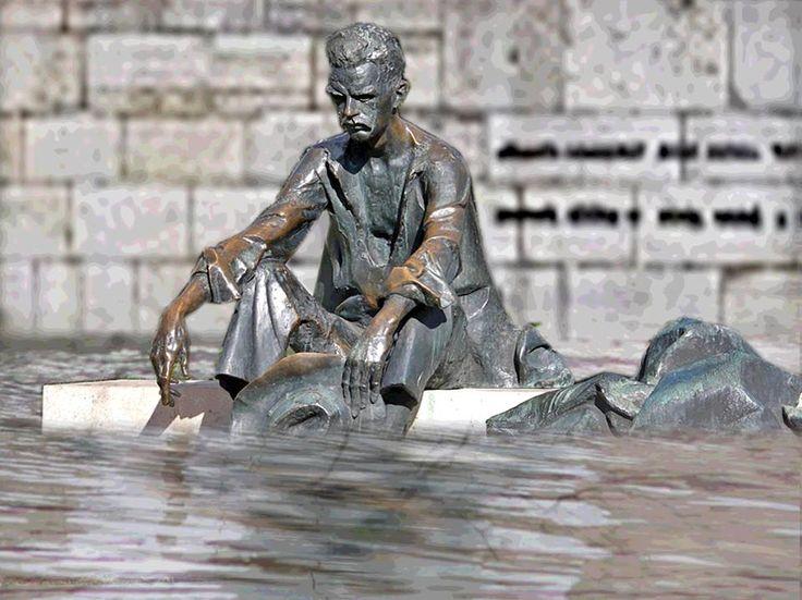 #JózsefAttila #Dunánál #árvíz2013