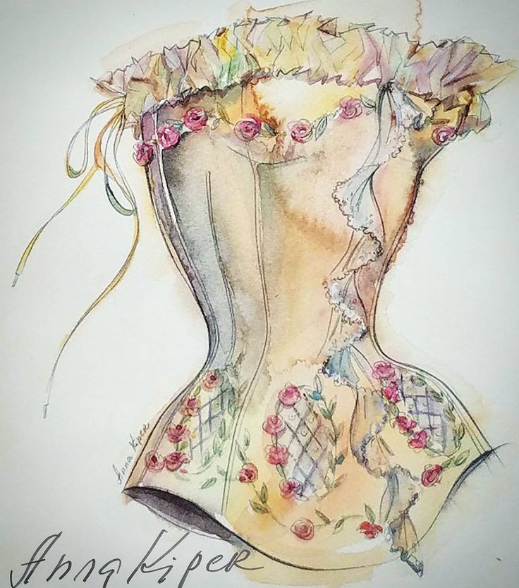 My watercolor illustration for Maggie Norris Couture. #annakiper #maggienorriscouture #fashion #dailylook #dailysketch #fasiongram #fashionista #sketchbook #watercolor #wedding #lace #bridal #drawadot #beautulbizarremagazine #corset #couture #fashiondesigner #fashionart  #fashionsketch #styleblogger #fashionblogger #fashionillustrator #art #design #fashiondesign #fashionweek #fashionillustration#мода #фэшн #дезайн