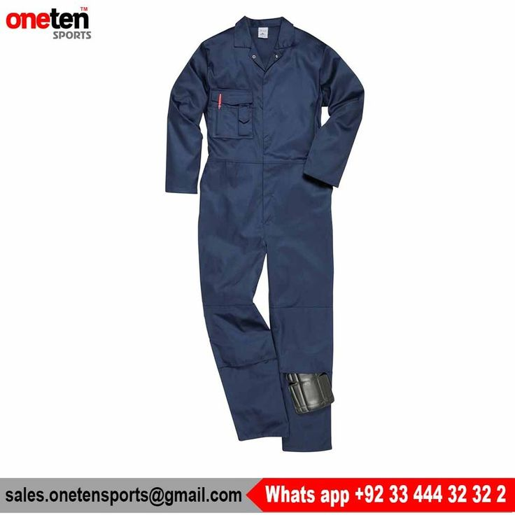 100% cotton uniform hi vis safety workwear coverall