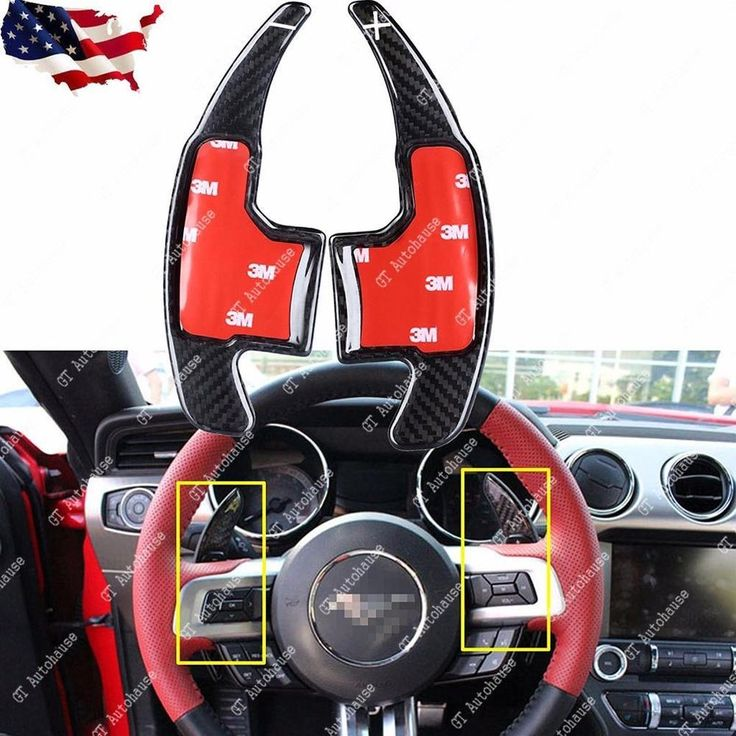 201517 ford mustang paddle shifter extensions carbon
