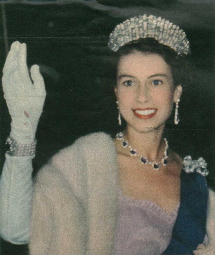HRH Queen Elizabeth~ lovely picture of her~
