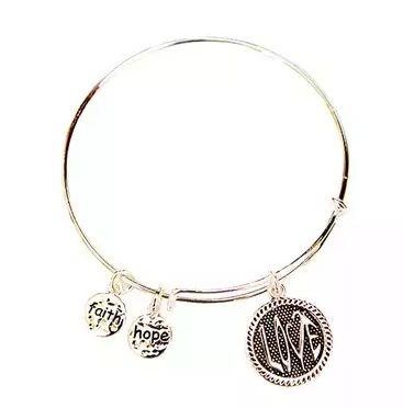 [팔찌]2-Pack: Inspirational Charm Bracelets                                    Nothing says picture pe...