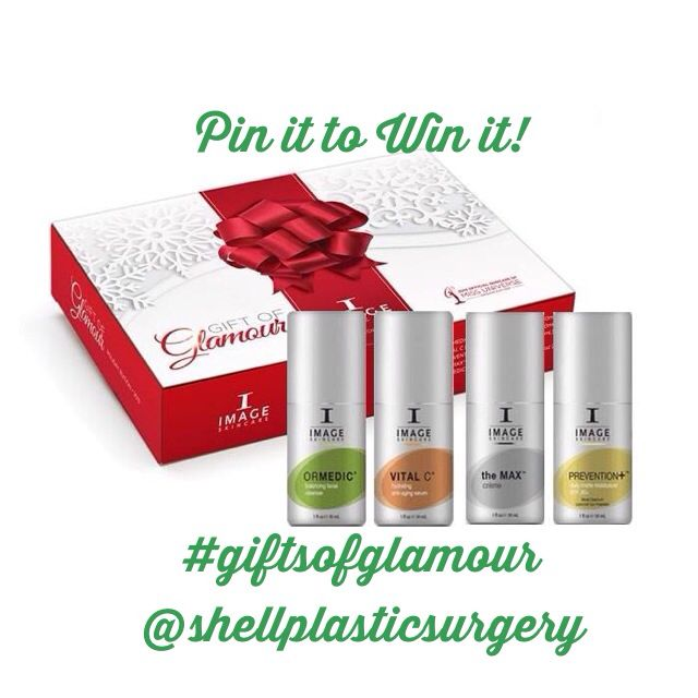 Follow us and Pin it to Win it! Drawing next week! Shell Plastic Surgery #giftsofglamour