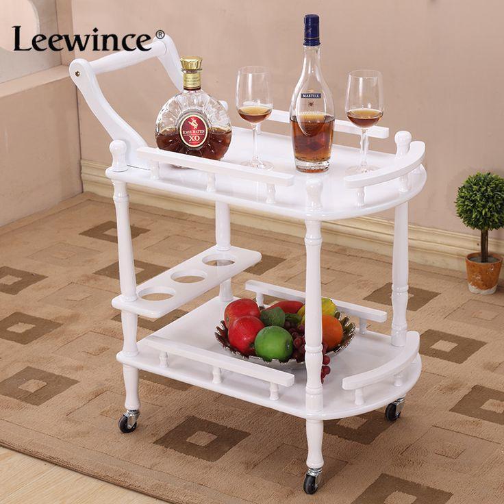 Hotel Carro Leewince Mesas de Café Sostenedores del Almacenaje Multiusos Estante Estante de Exhibición de Productos de Esquina Muebles De Consolas