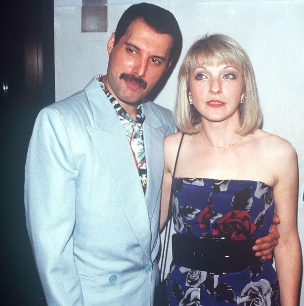 Freddie Mercury and Mary Austin