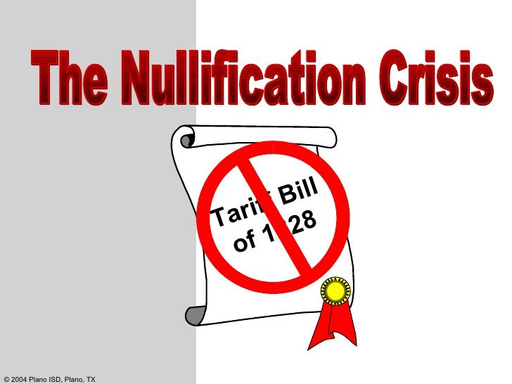 south carolina nullification What was nullification in the south carolina state election of 1832, attention focused on the issue of nullification, the concept that a state could ignore or refuse.
