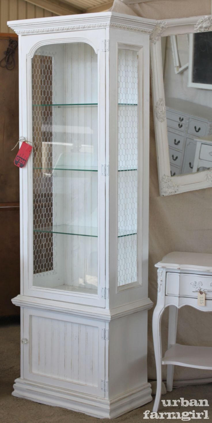 Lovely Urban Farmgirl   Kane County Flea Market, St. Charles, IL · Refinished  CabinetsGun CabinetsCurio ...