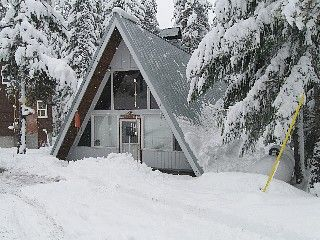 Mt Hood Cabin   Welcoming A Frame With Covered Hot Tub