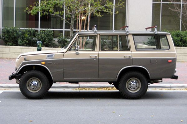 This is where many of us started. for sale 1971 toyota fj55 land cruiser