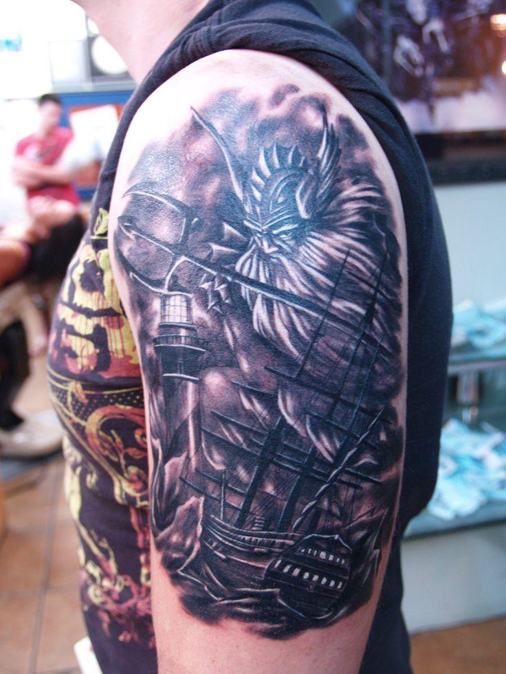 poseidon tattoo | Poseidon Tattoos