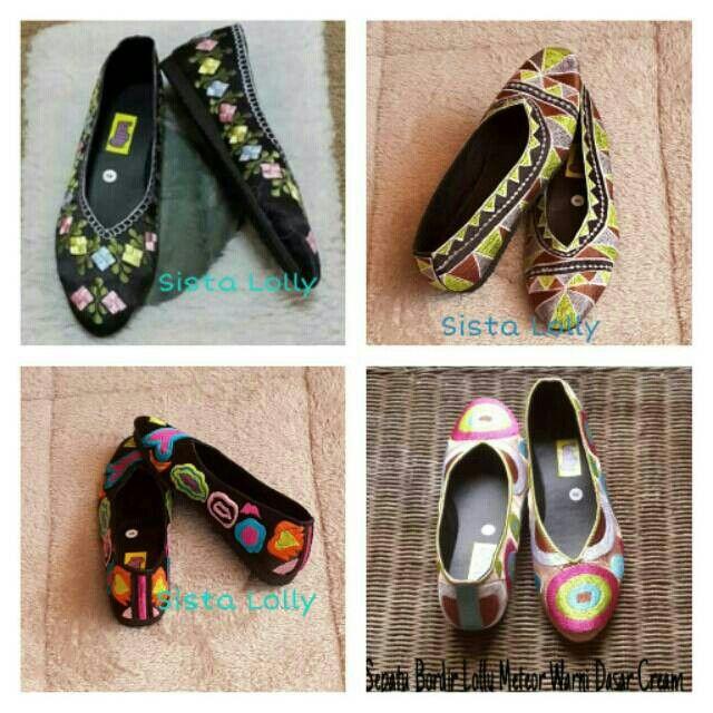 Saya menjual Sepatu Bordir Lolly Warna Warni seharga Rp85.000. Dapatkan produk ini hanya di Shopee! https://shopee.co.id/sistalolly/64133447 #ShopeeID