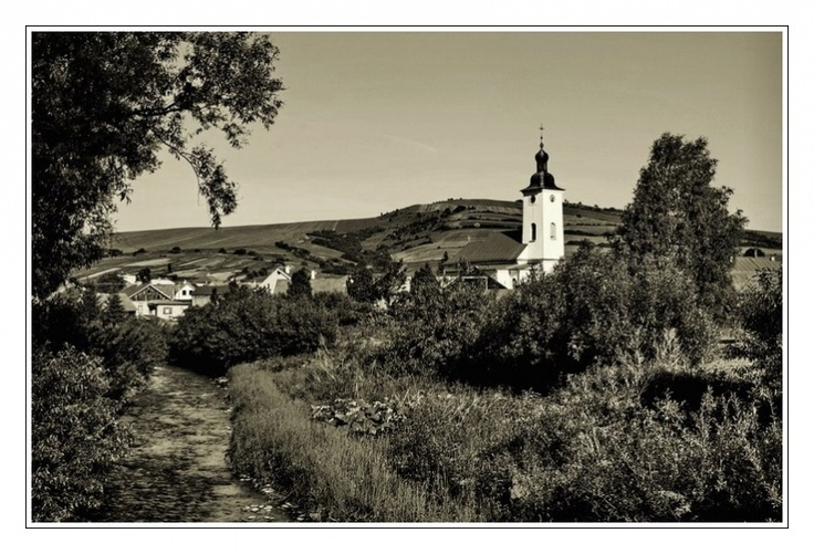 Church in Village Nová Ľubovňa