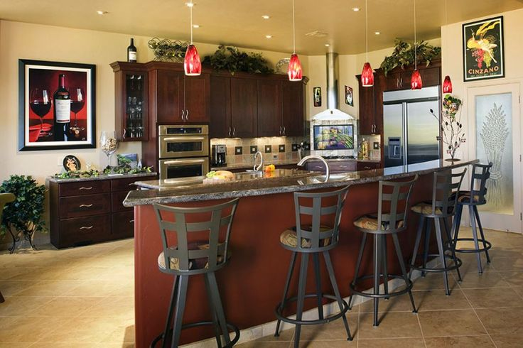 Decorate your kitchen with wine theme kitchen - Wine themed kitchen ideas ...