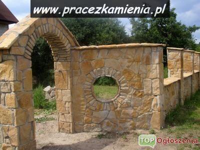 Ogrodzenie z kamienia naturalnego,ogrodzenie kamienne,ogrodzenia z kamienia,płoty naturalne