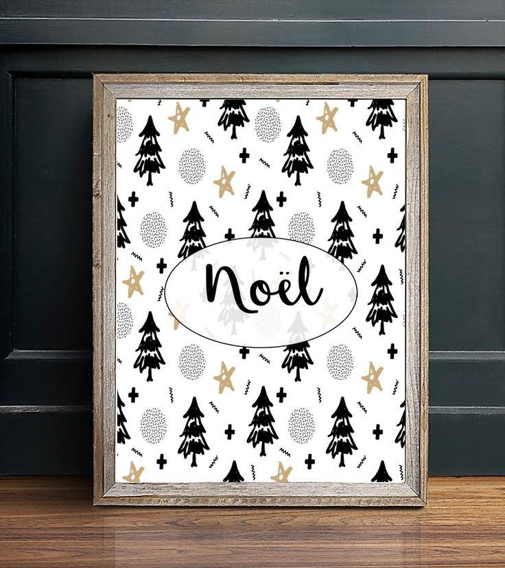 Affiche Noël par Marie-Maguelone à télécharger
