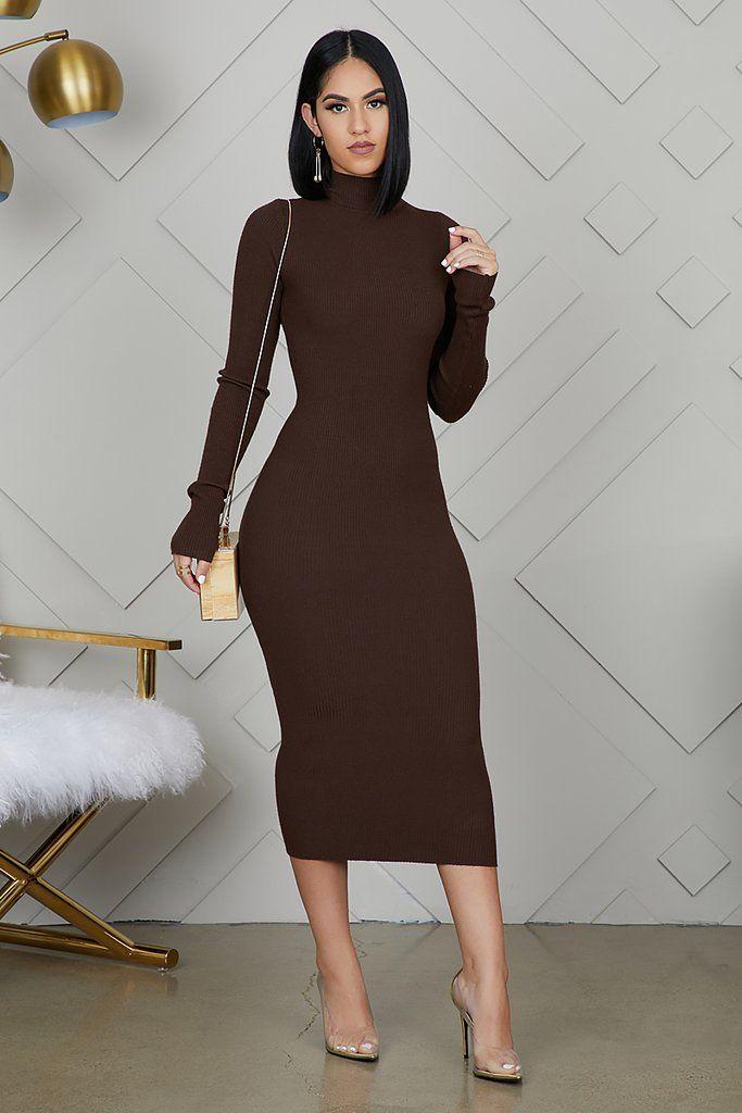 [+] Dark Brown Dresses