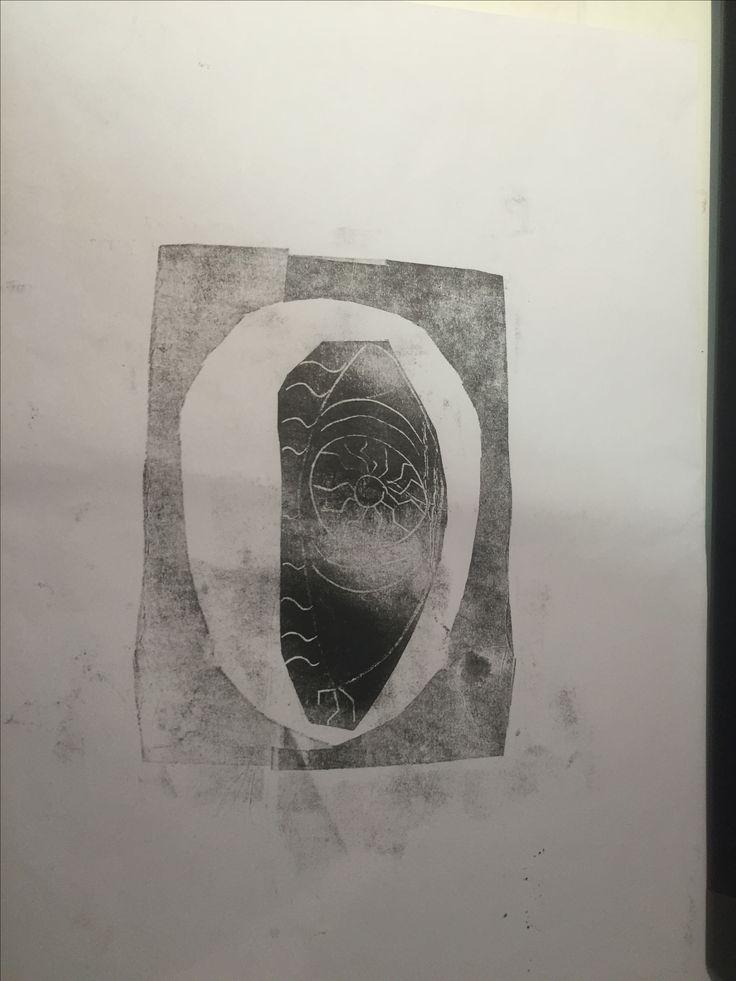 (Self work) Circle with eye