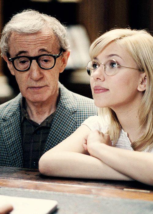 Woody Allen + Scarlett Johansson