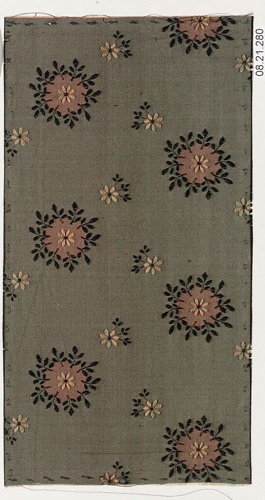 Designer Unknown Date: ca. 1900 Medium: Silk Classification: Textiles-Woven Credit Line: Rogers Fund, 1908