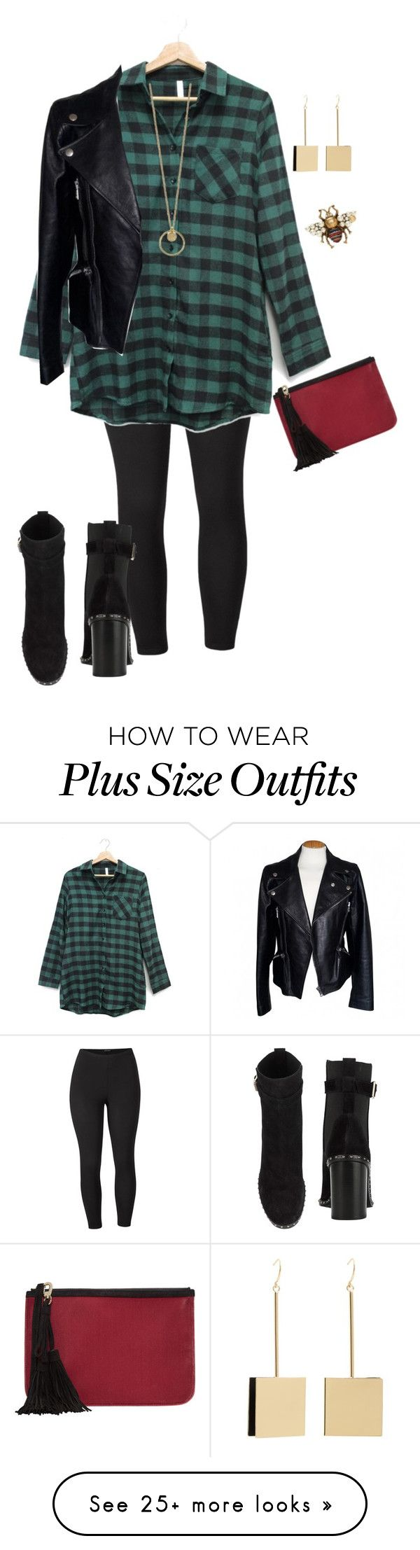 """Plus Date Night"" by xtrak on Polyvore featuring Venus, MANGO, Gucci, Pierre Hardy, Alexander McQueen, rag & bone and plus size clothing"