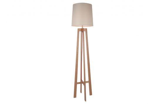 Dane Floor Lamp Oatmeal Shade