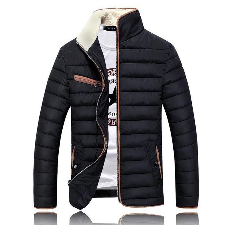 39.90$  Buy here - https://alitems.com/g/1e8d114494b01f4c715516525dc3e8/?i=5&ulp=https%3A%2F%2Fwww.aliexpress.com%2Fitem%2FHigh-Quality-Stand-Collar-Winter-Jacket-Men-Coat-Winter-Parka-Men-Down-Cotton-Mens-Jackets-And%2F32602263664.html - High Quality Stand Collar Winter Jacket Men Coat Winter Parka Men Down Cotton Mens Jackets And Coats Veste Manteau Homme Marque 39.90$