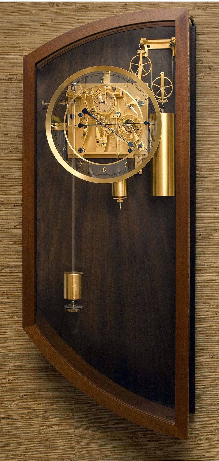 David Walter fabricates handcrafted clocks for clients worldwide, and provides…