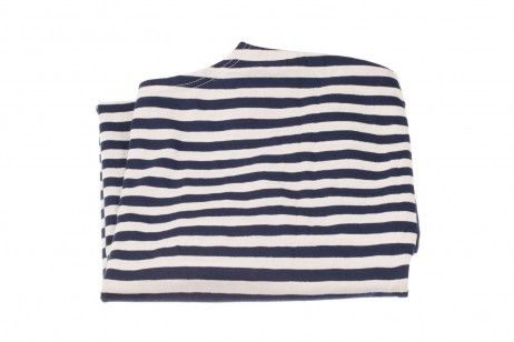 LONG SLEEVE TELNYASHKA OF THE NAVY (DARK BLUE, DOUBLE JERSEY). A sailor's long sleeve Telnyashka with dark blue stripes, designed for the Soviet and then Russian Navy. The fabric type – stockinette structure: a thin pleasant tissue, mostly for summer clothes, made of natural cotton. The right and wrong sides of such a tissue differ in texture. #Military #fashion #sailor #shirtdress #navy #naval #sea #submarine #marinecorps #marine #mariners #usmc #airborne #paratroopers #russian #soviet
