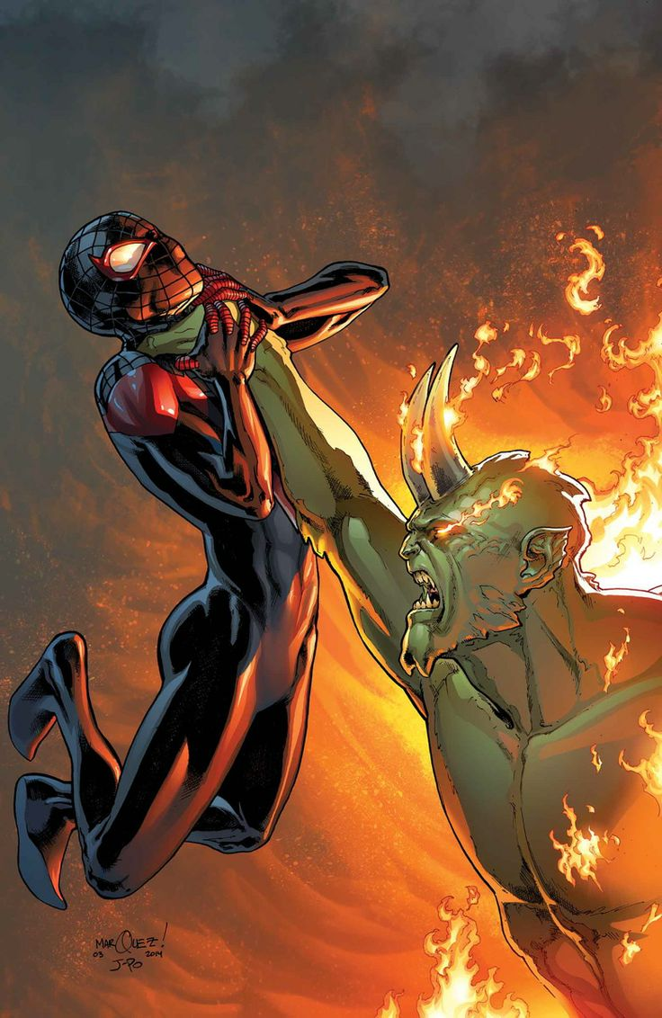 MILES MORALES: THE ULTIMATE SPIDER-MAN #3 - BRIAN MICHAEL BENDIS, DAVE MARQUEZ / Variant Cover by SARA PICHELLI