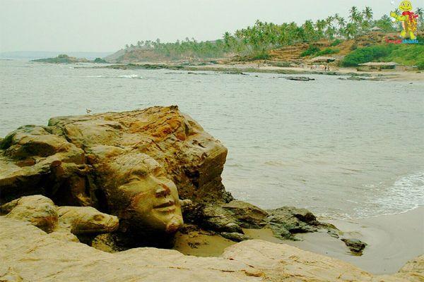 Goa Vagator beach