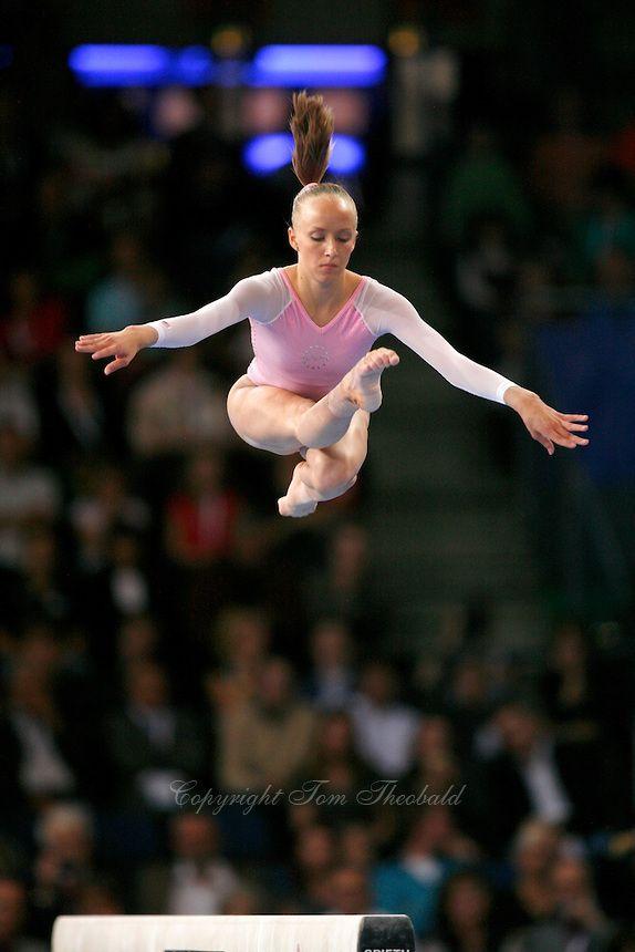 Anastasia Liukin of USA - 2007 World Championships