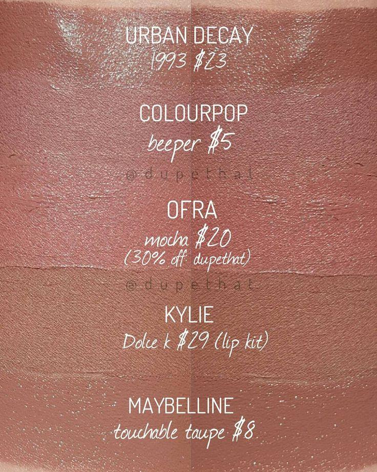 18 Best Kylie Lip Kit Dupes Images On Pinterest