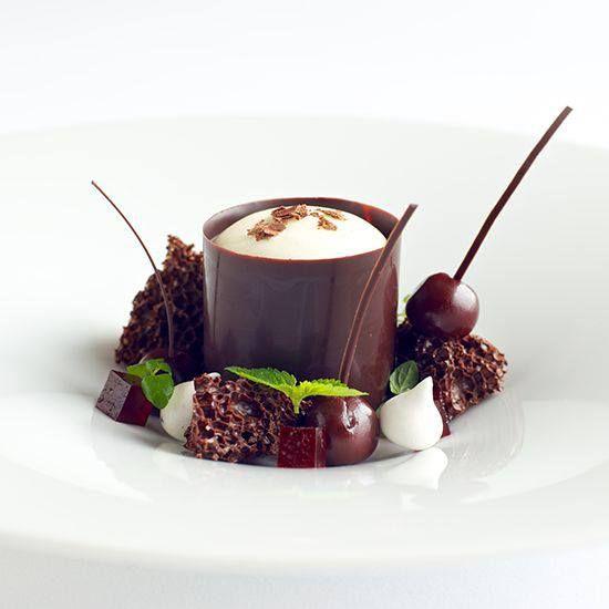 dessert plating and presentation                                                                                                                                                                                 More