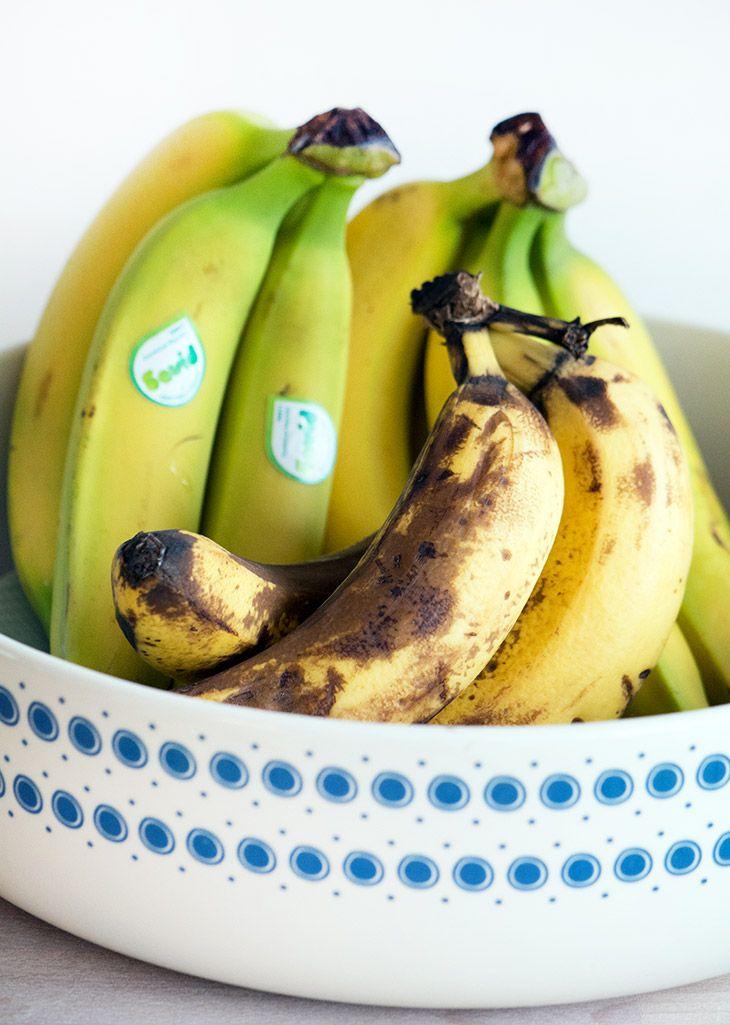 10 lækre opskrifter med (over)modne bananer
