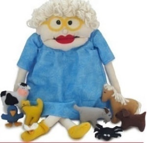 I Know An Old Woman - Fun Felt Toys | Crafts | YouCanMakeThis.com