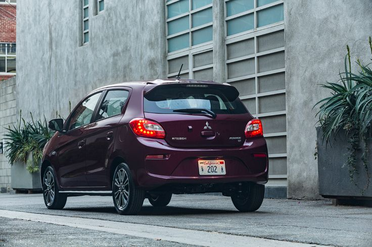 2017 Mitsubishi Mirage More Sexy! Back View