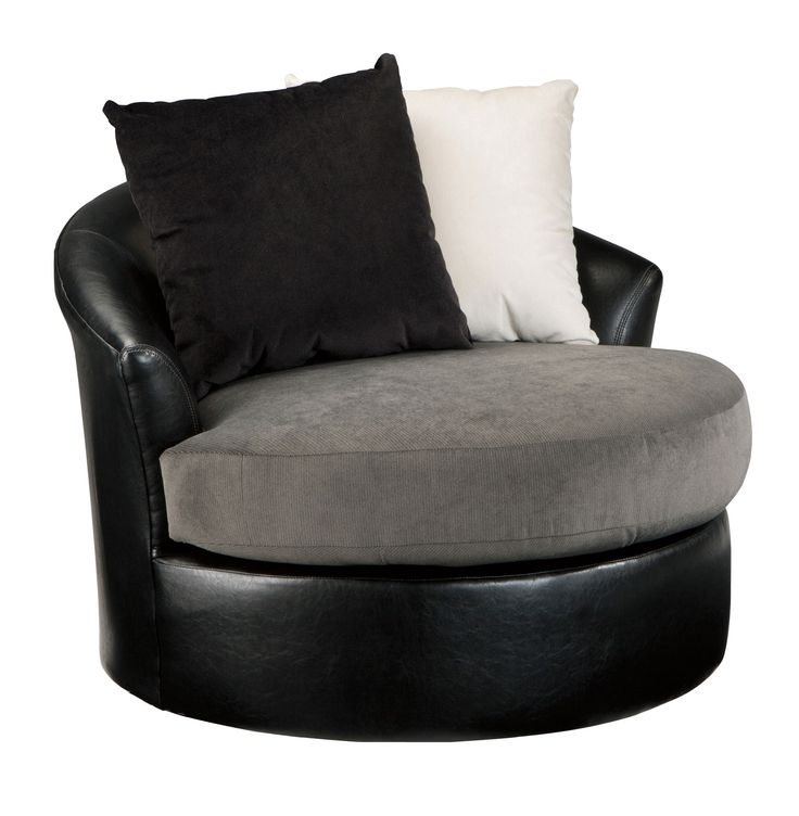 Armant Swivel Accent Chair by Ashley - Home Gallery Stores  Den cuddles chair