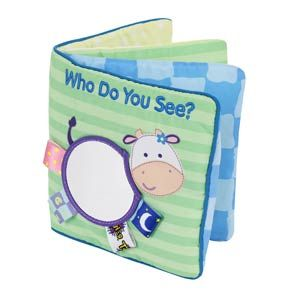 Kids II, Inc - My First Taggies™ Book: Who Do You See?
