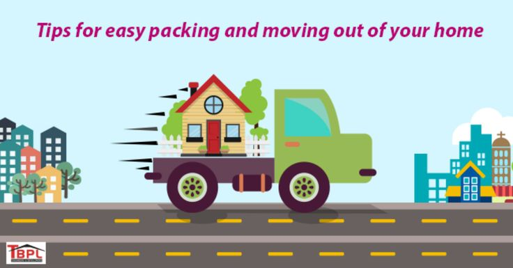 8 Top Tips for Easy Packing and Moving out of Your Home  Are you planning to move out of your present home? Here are some tips for easy packing by TBPL Builders. Check it out : http://www.tbpl.in/packing-and-moving-checklist/ #MovingOutToNewHome