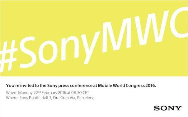 Sony tendrá lanzamientos en el MWC 2016   La invitación al lanzamiento de Sony en el MWC 2016 no nos da muchas pistas.  Cada vez falta más poco para el Mobile World Congress 2016 que se celebrará en Barcelona del 22 al 25 de febrero. Muchos de los fabricantes más importantes del mundo tienen una cita para mostrar a los usuarios sus más recientes dispositivos móviles o equipos relacionados. En esta ocasión gracias a información de Phone Arena Sony invitó a un nuevo evento para la prensa en el…
