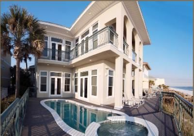Miramar Beach - Destin Rental on Frangista Beach Florida - Paradis Beach Home - FL Rental